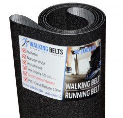 Precor 944 Ver. 2 S/N: 1U,5J Treadmill Running Belt 1ply Sand Blast