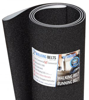 "Sole F80 Long 126"" Treadmill Walking Belt 2ply Sand Blast"