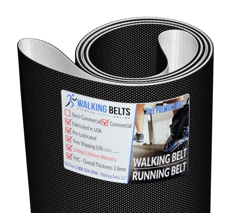 """Custom belt 109"""" x 19.5"""" Treadmill Walking Belt 2ply Premium"""