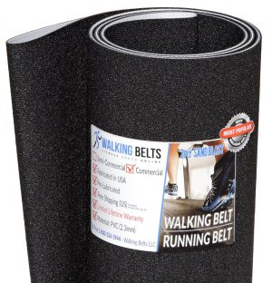 "Custom belt 22"" x 126.4"" Treadmill Walking Belt 2ply Sand Blast"