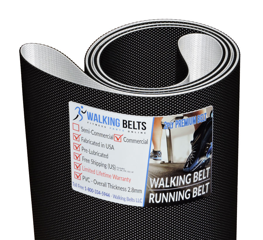 Precor 9.35 S/N: AJND Treadmill Walking Belt 2ply Premium