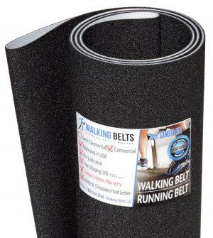 Precor C934 240VAC S/N: SN Treadmill Walking Belt Sand Blast 2ply