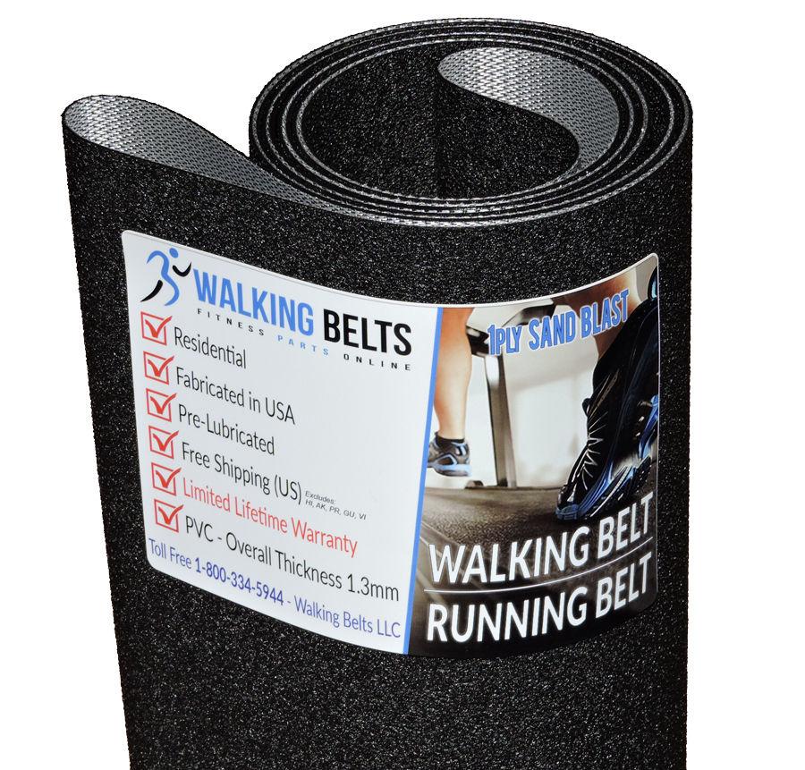 Treadmill Belt Cleaning Solution: True 350P Treadmill Running Belt 1ply Sand Blast