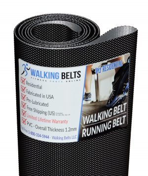 Sole F60 (560813) (2014) Treadmill Walking Belt 1ply Residential + Free 1 oz. Lube